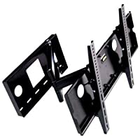 Mount World 1212 Universal Tilt and Swivel Articulating Arm Corner Wall Mount (25 Extension) for Panasonic 32 37 42 46 TC-P42C1 TC-L32C12 TC-L37G1 TC-P42G10 TC-L37S1 TC-P42S1 TC-P46S1 TC-32LX85 TC-37LZ800 TC-37LZ85 TH-42PX80U TH-42PZ80U TH-42PZ85U TH-46PZ80U TH-46PZ85U TH-C42FD18 TH-C42HD18 TC-P42U1 TC-P46U1 TC-L37X1 TC-P42X1