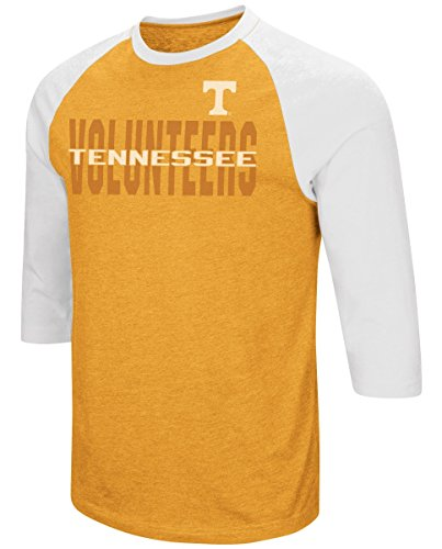 Tennessee Volunteers NCAA Steal Home Men's Dual Blend 3/4 Sleeve T-Shirt