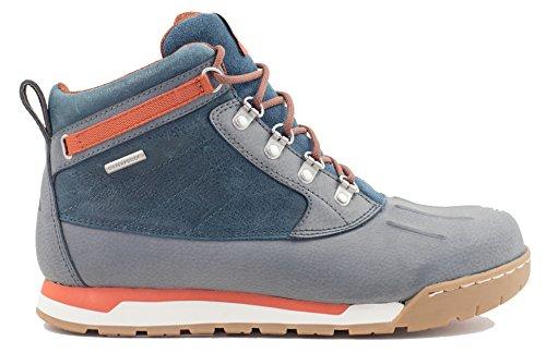 Forsake Duck - Herren Wasserdichte Leder Performance Sneakerboot Grau / Arktis