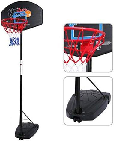プロフェッショナルバスケットボールフープフリースタンディングポータブルバスケットボールスタンド子供の教育ペットプレイボールバスケットボール愛好家118-260cmから調整可能