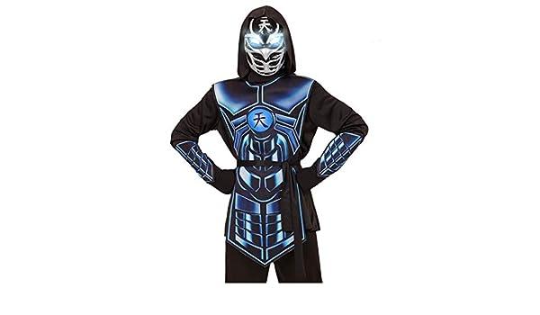 Horror-Shop Cyber Ninja Niño Disfraces con Ojos Brillantes L ...