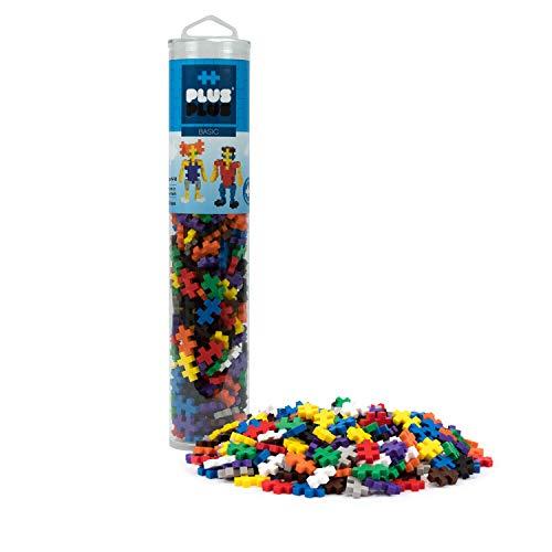 (PLUS PLUS - Construction Building Toy, Open Play Tube - 240 Piece - Basic Color Mix)