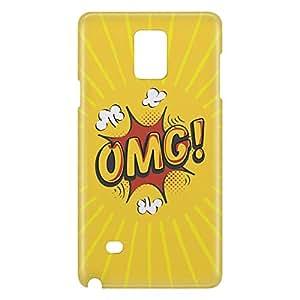 Loud Universe Galaxy Note 5 Comic Omg Print 3D Wrap Around Case - Yellow