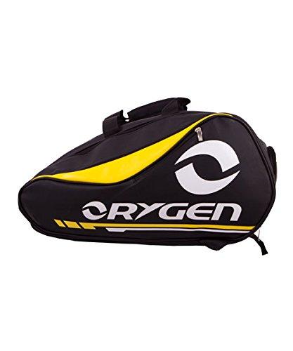 Bolsa de pádel orygen amarillo: Amazon.es: Deportes y aire libre