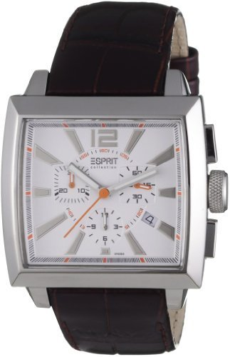 Esprit Men's Quartz Watch EL101031F03 with Leather Strap