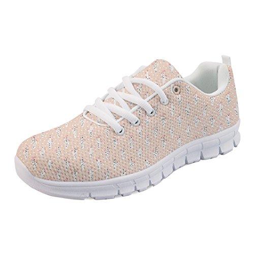 HUGS IDEA Y-H1050AQ - Zapatillas de Running Para Mujer Cactus 5