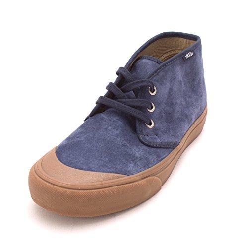 Vans Hombres Prairie Chukka Dr Low & Mid Tops Schnuersenkel Skateboarding Schuhe DRESS BLUE GUM