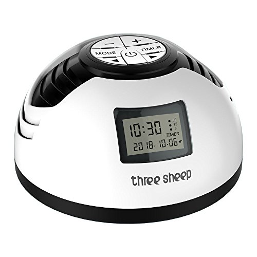 white noise machine three sheep s2 baby nature sound machine aa battery powered alarm clock plug. Black Bedroom Furniture Sets. Home Design Ideas
