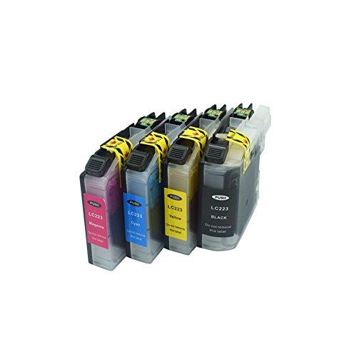 komada cartucho de tinta para Brother LC223apropiado para Brother DCP-J4120DW MFC-J4420DW MFC-J4620DW MFC-J5320DW...