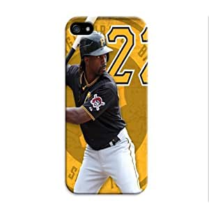 LarryToliver Customizable Forever Collectibles Baseball Pittsburgh Pirates Rugged Dual Hybrid iphone 5/5s Cases
