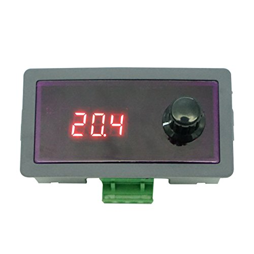 Digital High Precision Signal Generator, Current LED Display, Stable Signal Source with 0.01mA Adjustable Potentiometer, 4-20mA, DC 12-30V Constant Current Source