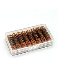 8pcs AAA batería para hhr 55aaabu para teléfono inalámbrico Panasonic 1.2 V 550 mAh Nuevos y Originales recargables Ni MH