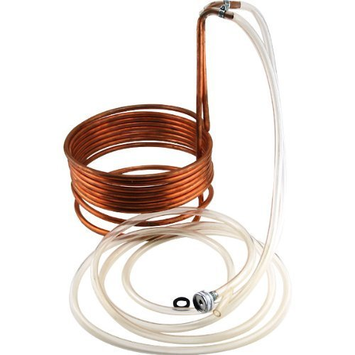 Homebrew Immersion Wort Chiller - 25' Copper Tubing by NY Brew Supply