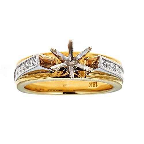 Tacori 18K Two-Tone Gold & Diamond Engagement Ring ()