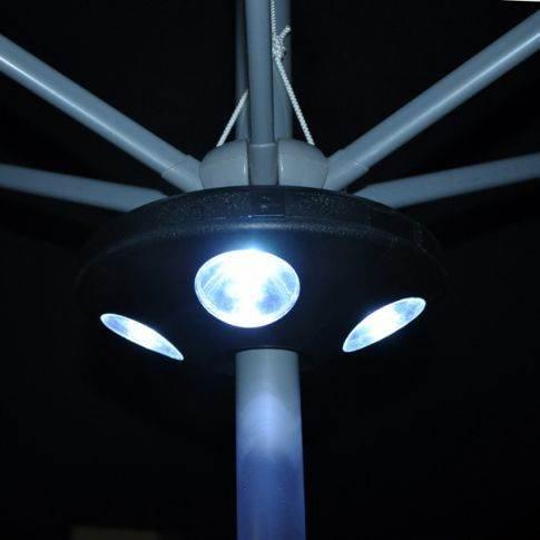 16 LED Parasol Umbrella Light Garden Outdoor