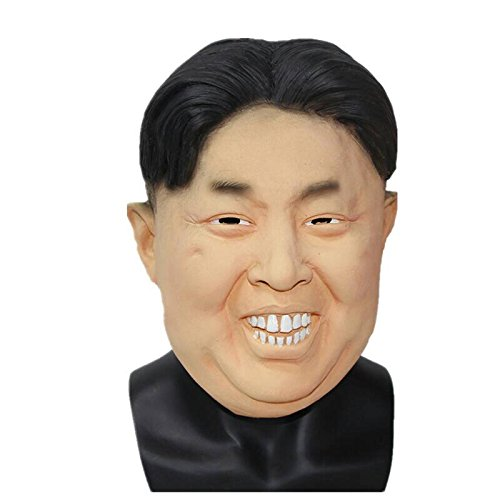 Kim Jong-un North Korea President Dictator Mask by The Mask Biz - Latex]()