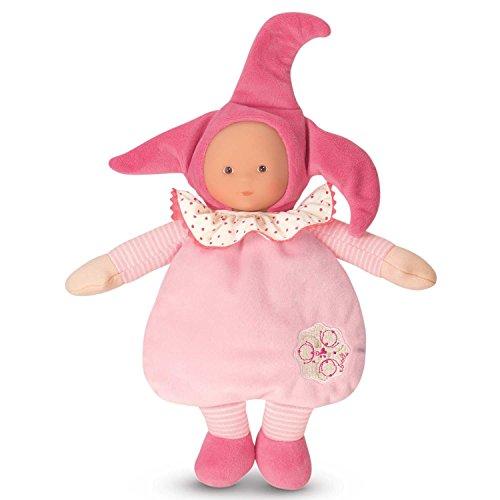 [Corolle Babicorolle Elf Pink Cotton Flower Doll] (Rag Doll Cap)