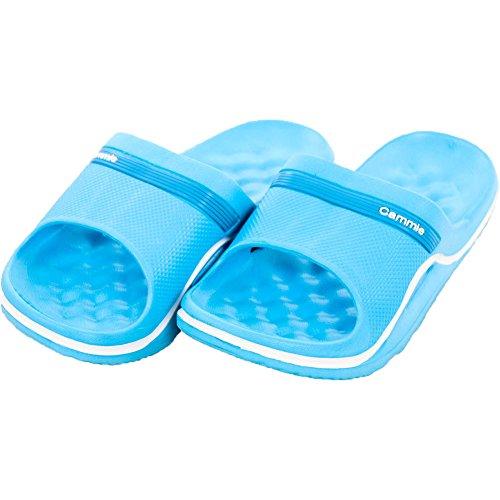 Cammie Kvinna Kudde Slip På Glid Sandaler Blå