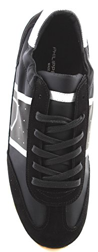 Italy Made Toujours Philippe in Model Herren Basic Sneaker Noir New Paris Schuhe xfPzfCwq