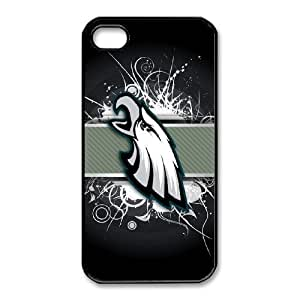 iPhone 4,4S Phone Case NFL Philadelphia Eagles Football Personalized Cover Cell Phone Cases GHW504844