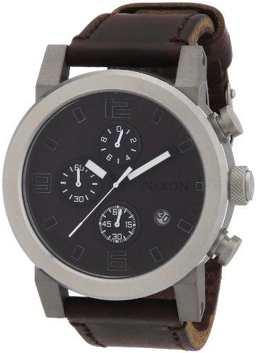 Nixon Men's Quartz Watch The Ride Brown / Black A315562-0...