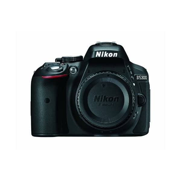 41HfZOKOU0L. SS600  - Nikon D5300 24.2 MP CMOS Digital SLR Camera with Built-in Wi-Fi and GPS Body Only (Black)