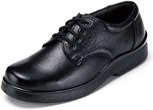 ビジネスシューズ メンズ 4E 幅広 ウォーキング 走れる 革靴 牛革 軽量 ブラック ブラウン EEEE 紐 ローファー 撥水加工 立ち仕事 紳士靴 痛くない 柔らかい 歩きやすい 父の日 プレゼント 23.5cm-27.5cm