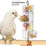 Creative Foraging Systems+E487 CFS 3-Pull Out Drawers Pet Feeder, My Pet Supplies