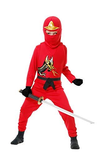 red ninja costume - 8