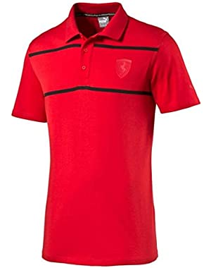 Ferrari Polo Red With Black Trim