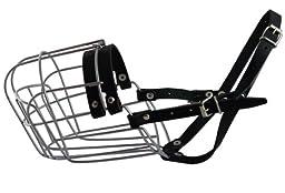 Metal Wire Basket Dog Muzzle Saint Bernard, Mastiff, Great Dane. Circumference 17\
