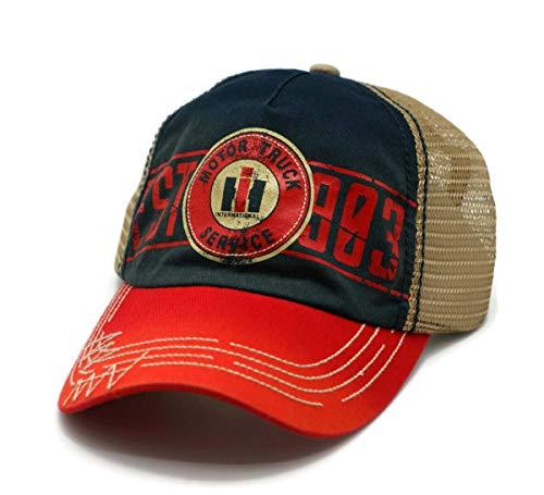 - H3 Headwear HAT - International Trucks Motor Service Mesh Trucker Ball Cap