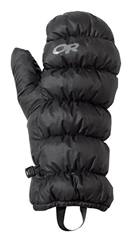 Down Mittens - Outdoor Research Transcendent Mitts, Black, X-Small