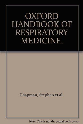 OXFORD HANDBOOK OF RESPIRATORY MEDICINE. ebook