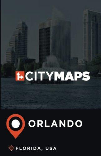 City Maps Orlando Florida, USA