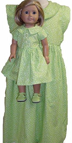 Matching Designer Designer Matching Longライムドレス少女と人形のサイズ7 B00YSAMA60 B00YSAMA60, ハウスドクター:fa3232b7 --- arvoreazul.com.br