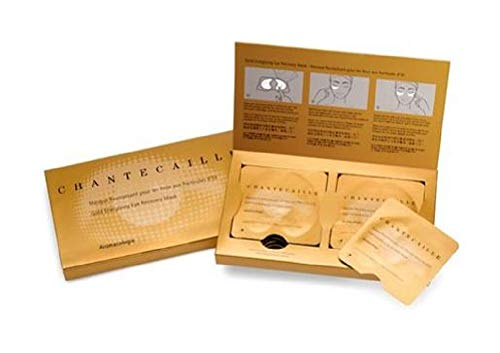 Exclusive New Chantecaille Gold Energizing Eye Recovery Mask - 8 PAIRS