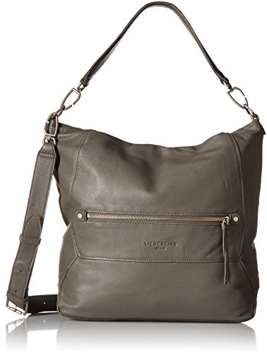 Liebeskind Berlin Queens Multvi, Borse Tote Donna Grigio (Rock Grey)