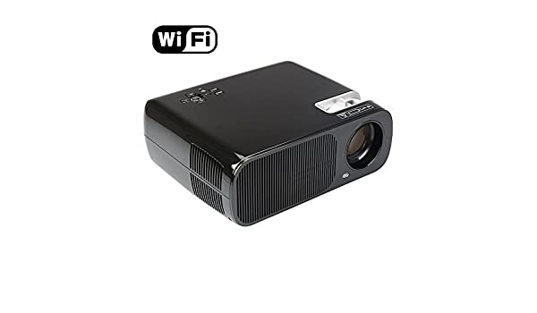 Flylinktech videoproyector Proyector de vídeo, Bluetooth, wi-Fi ...