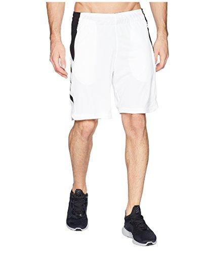 adidas Mens Accelerate Shorts White/Black Large R