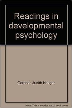 Book Readings in developmental psychology