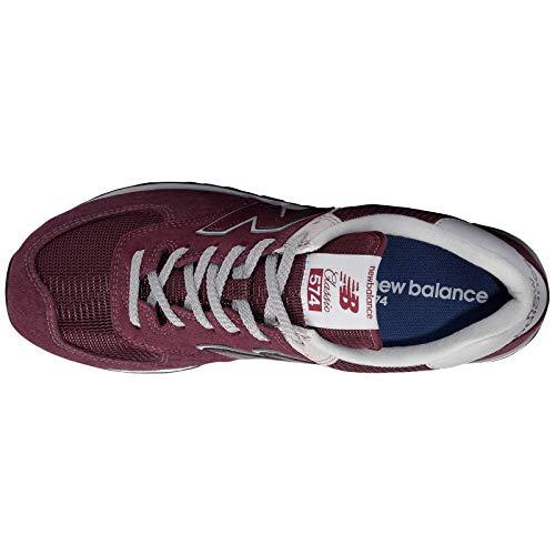 Sneaker Sport New 574S Balance Men's Burgundy UqqPpYZ