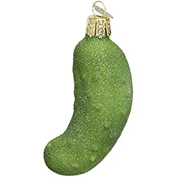Amazon.com: Traditional German Christmas Pickle Ornament ...