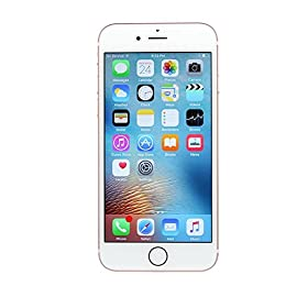 Apple iPhone 6S Plus, 16GB, Rose Gold - For AT&T (Renewed) 6 Dual-Core 1.84 GHz, Chipset: Apple A9 Internal Memory: 16GB, 2GB RAM Wi-Fi 802.11 a/b/g/n/ac, dual-band, Wi-Fi hotspot, Bluetooth: v4.2, A2DP, LE, USB: v2.0, reversible connector, GPS: with A-GPS, GLONASS