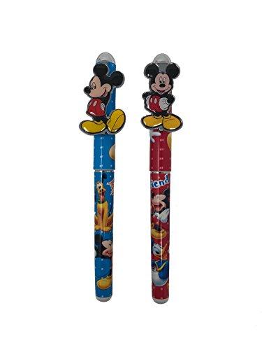 Disney Mickey Mouse & Friends Pen 2pc set (red, blue)