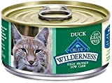 Blue Buffalo Wilderness Duck Canned Cat Food, Case of 24