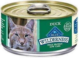 Blue Buffalo Wilderness Duck Canned Cat Food, Case of 24 by Blue Buffalo