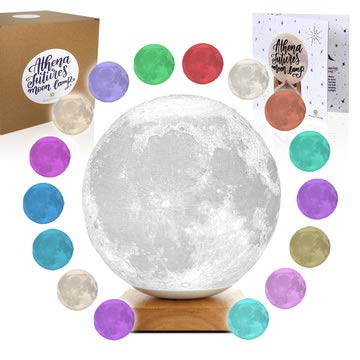 Review Moon Lamp Moon Light