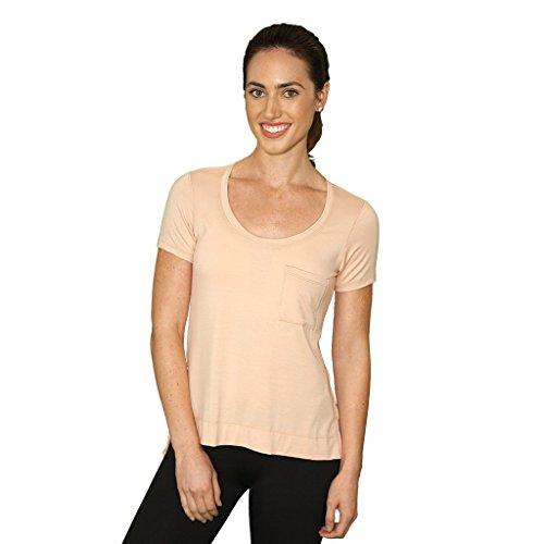 FABB Activewear Women's Zen Baby Yoga T-Shirt Medium Bare