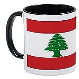 CafePress %2D Lebanese Flag Mug %2D Uniq